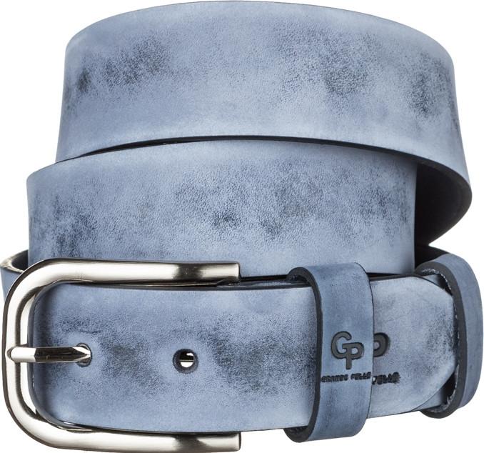 Ремінь чоловічий Grande Pelle 11061 Синій