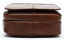 Сумка через плече чоловіча Vintage 14898 Коричнева, фото 2