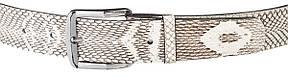 Ремень SNAKE LEATHER 18168 из натуральной кожи кобры Белый, фото 2