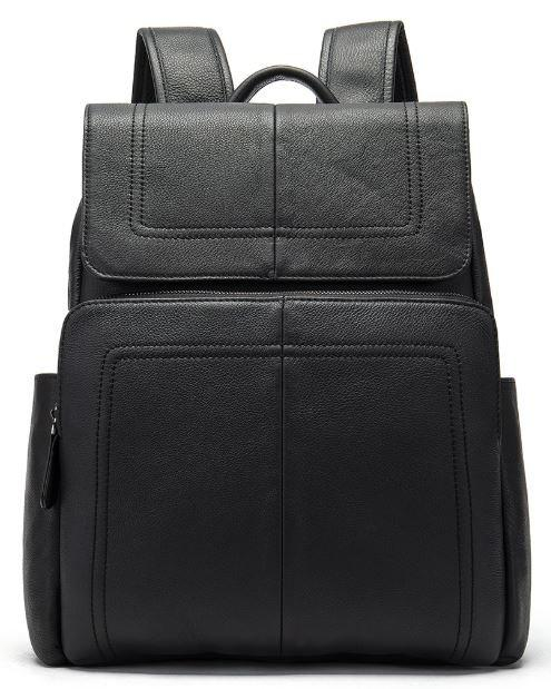 Рюкзак шкіряний Vintage 14891 Чорний