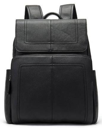 Рюкзак шкіряний Vintage 14891 Чорний, фото 2