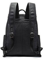 Рюкзак шкіряний Vintage 14891 Чорний, фото 3