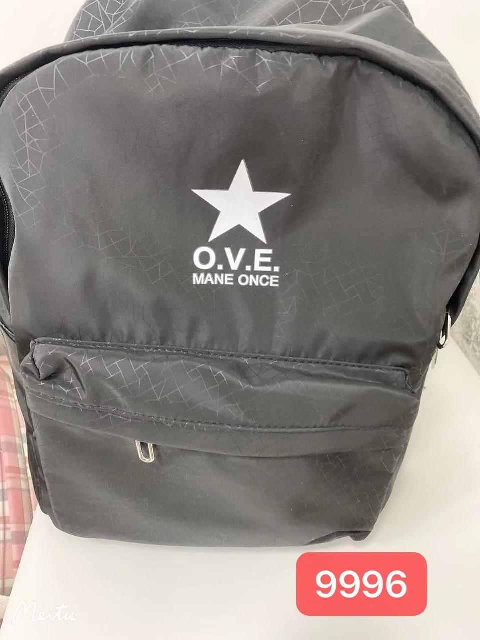 Рюкзак чоловічий стильний міський чорний Mark