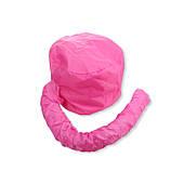 Термошапка сушуар для масок, ламинирования и лечения волос Розовый
