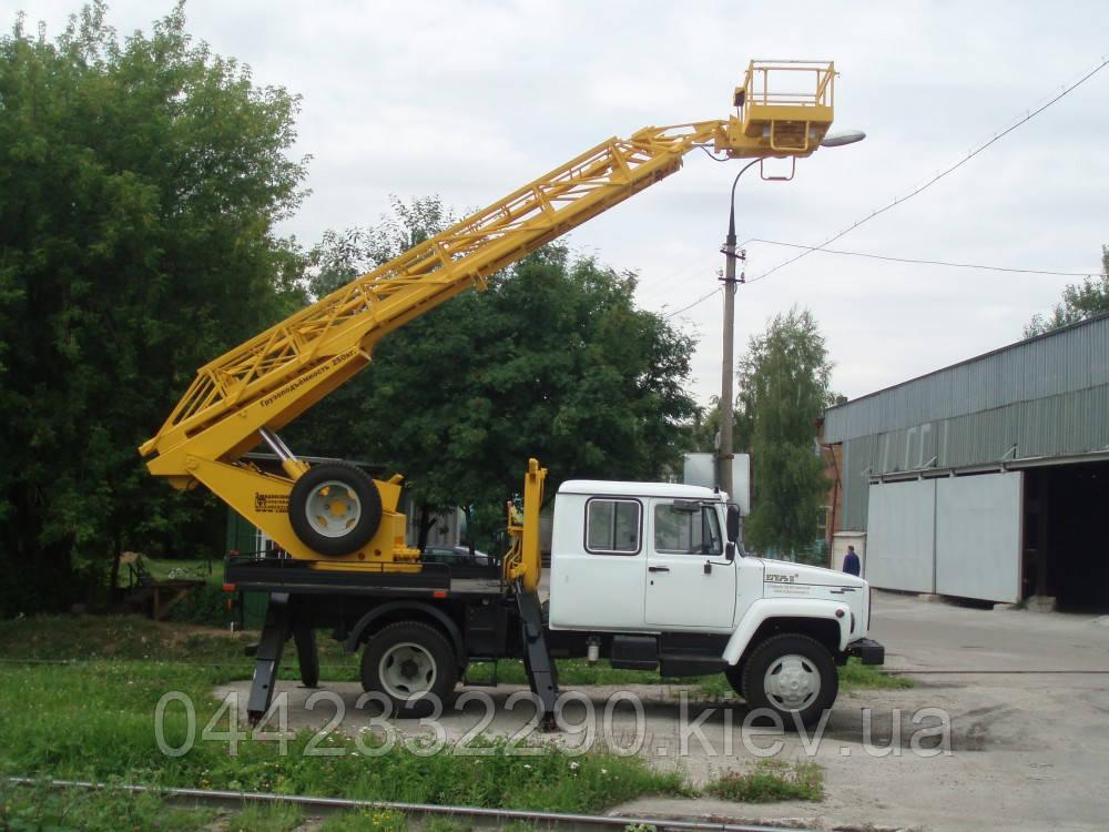 Телескопическая автовышка аренда в Киеве
