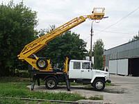 Телескопическая автовышка аренда в Киеве , фото 1