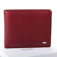 Жіночий шкіряний гаманець 12.5*10.5*2.5 бордовий, фото 1