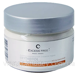 Эритрит пудра Excess Free™ Сочный Апельсин  (180 грамм)