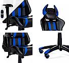 Комп'ютерне крісло для геймерів ZANO DRAGON WHITE, фото 8