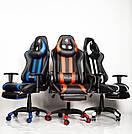 Комп'ютерне крісло для геймерів ZANO DRAGON WHITE, фото 10
