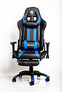 Комп'ютерне крісло для геймерів ZANO BLUE DRAGON, фото 5