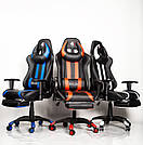 Комп'ютерне крісло для геймерів ZANO BLUE DRAGON, фото 7