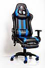 Комп'ютерне крісло для геймерів ZANO BLUE DRAGON, фото 8
