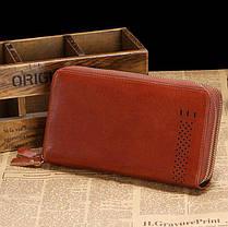 Мужской клатч Vintage 14195 Коричневый, фото 3