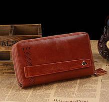 Мужской клатч Vintage 14195 Коричневый, фото 2