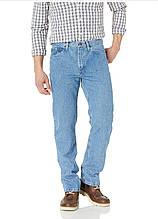 Мужские джинсы Wrangler Authentic Classic  Regular Fit Light Stonewash - голубые