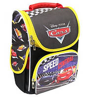 Школьный ранец каркасный для первоклассника Тачки Рюкзак портфель ранец ортопедический для мальчика 1-2 класс