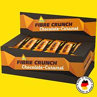 Энергетические протеиновые батончики Inkospor Fibre Crunch 30 шт. Карамель шоколад, фото 1