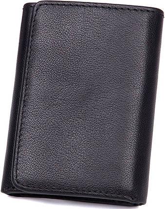 Кошелек Vintage 14467 кожаный Черный, фото 2