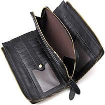 Чоловічий клатч Vintage 14442 Чорний, фото 3