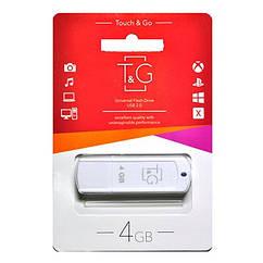 Флеш-накопитель USB 4GB TG 011 Classic Series White TG011-4GBWH, КОД: 1905027