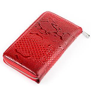 Гаманець жіночий KARYA 17003 шкіряний Червоний, фото 2