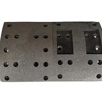 Накладка тормозной колодки передней оси САМС   3502407-02
