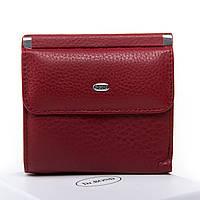 Женский кожаный кошелек 10.5*10*2.5 бордовый, фото 1