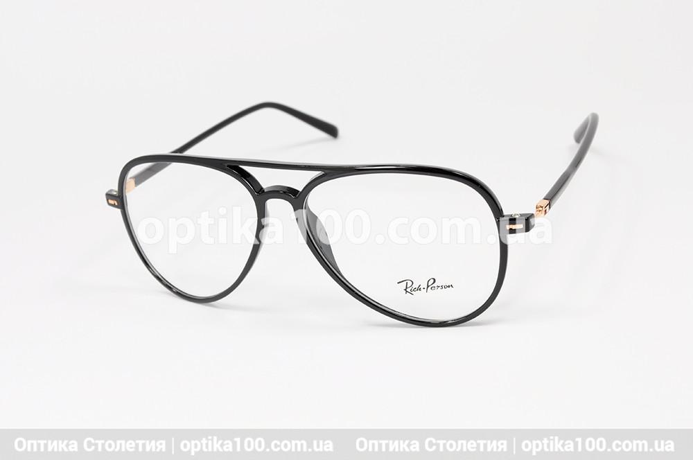Оправа окулярів АВІАТОР пластикова чорна