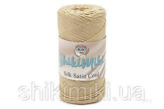 Сутажный шнур Silk Satin Cord 2,5 mm, цвет Бежевый
