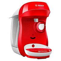 Капсульная кофемашина Bosch Tassimo Happy TAS1001 Red