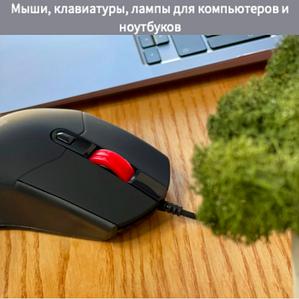 Мыши, клавиатуры, лампы для компьютеров и ноутбуков