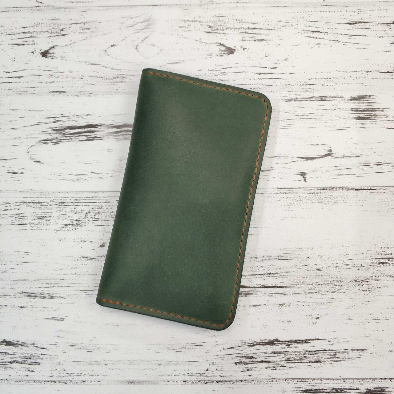 Мужской кожаный бумажник Stedley Ostrek