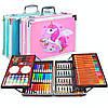 Набір для малювання Drawing Board 145 предметів у валізі для дітей