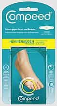 Пластир гідроколоїдний проти сухих мозолів на пальцях Compeed Corn Plaster Компид Німеччина 10 шт