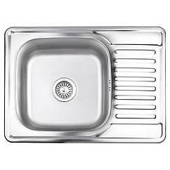 Кухонна мийка Lidz 6950 Satin 0,8 мм (LIDZ6950SAT8)