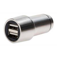 Автомобильное зарядное устройство DIGITUS Ednet Hammer USB Charger 2*USB 2.4A(4.8A) (84120)