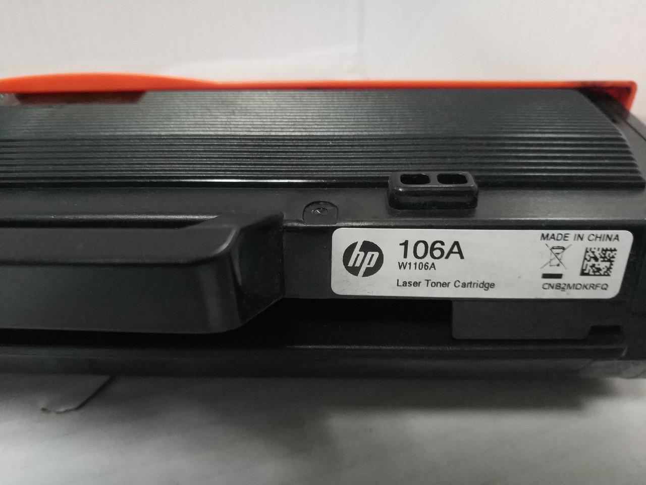 Картриджі HP 106A Black (W1106A) для HP 107/135/137 першопроходці оригінали