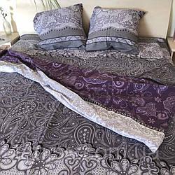 """Семейный набор постельного белья  """"ранфорс"""",  расцветка как на фото, узор"""