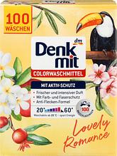Стиральный порошок для цветных вещей Denkmit Colorwaschmittel Pulver Lovely Romance 6.5кг