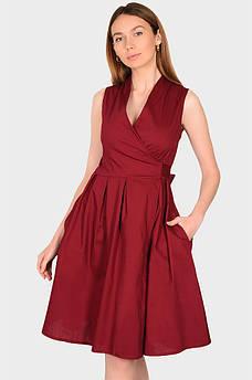Платье женское бордовое размер S Fashion 132522S