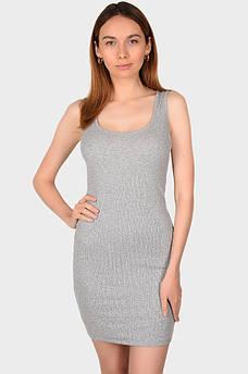 Платье женское серое размер S MISS ONE 132498S