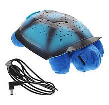 Музыкальная ночник черепаха проектор Blue