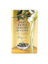 Масло оливковое Vesuvio Olio Extra Virgin di Olive, 5л (Италия) в золотой жестяной банке, рафинированное