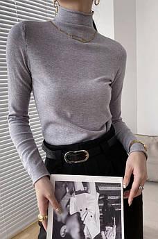 Свитер женский серый TRG 132560S