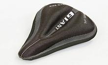 Чохол накладка на сидіння для велосипеда гелева GIANT TQ-JJW100 Чорна