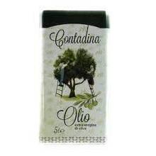 Масло оливковое Contandina, 5л (Италия) в жестяной банке, рафинированное, для жарки
