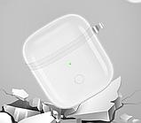 Силиконовый прозрачный чехол Casp на кейс Realme Buds Air / Realme Buds Air Neo /, фото 4