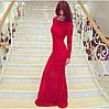 Гипюровое платье с открытой спиной и украшением (разные цвета), фото 4