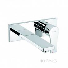 Смеситель для умывальника Kludi Zenta Sl хром, длина излива 180 мм (482470565)